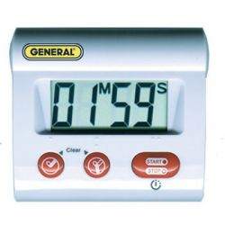 GENERAL TOOLS TI170, DIGITAL COUNT-UP/COUNT-DOWN - TIMER, 100 MIN TI170