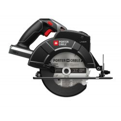 """PORTER CABLE PC18CSL, SAW-CIRCULAR CORDLESS 18V - 6-1/2"""" W/LASER TOOL ONLY - PC18CSL"""