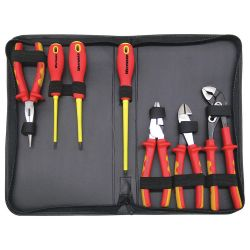 WESTWARD PKSK7E, INSULATED - 7PC - PLIER/SCREWDRIVER KIT PKSK7E