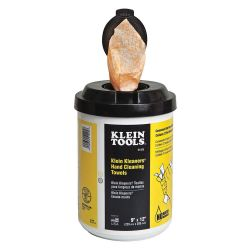 KLEIN TOOLS 51425, KLEIN KLEANERS, WATERLESS HAND - CLEANING DISP. TOWELS QTY. 6 - 51425