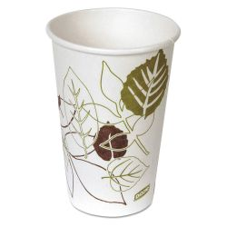 DIXIE 2346PATH, DISPOSABLE HOT BEVERAGE CUP - 16 OZ POLYETHYLENE LINED 1000 2346PATH