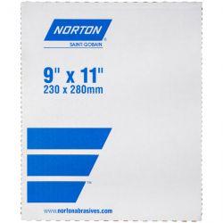 SAINT-GOBAIN NORTON 39364, SHEET-BLUE-BAK 9 X 11 - P320-A T414 WATERPROOF - 39364