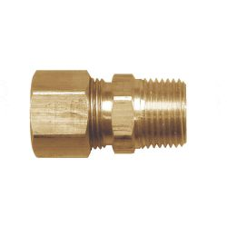 """FAIRVIEW 468-8D, COMPRESSION CONNECTOR - 1/2"""" POLY TUBE X 1/2 MPT 468-8D"""