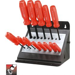 """EKLIND 90114, BALL-HEX-DRIVER SETS - 13PC. W/STAND-.050""""-3/8"""" 90114"""