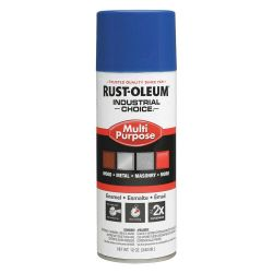 RUST-OLEUM 1626830, PAINT-IC ENAMEL FASTDRY 12 OZ - AEROSOL GLOSS TRUE BLUE 1626830