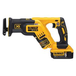 DEWALT DCS367P1, RECIP SAW KIT - COMPACT - 20V MAX XR BRUSHLESS 5.0AH DCS367P1