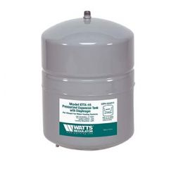 WATTS WATER TECHNOLOGIES 0066605, EXPANSION TANK HYDRONIC ET15 - 16XT501 + 16XT701 2 GAL - 0066605