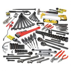 PROTO JTS-0107RRBX1, 107 PC RAILROAD PIPE FITTER'S - SET WITH TOOL BOX JTS-0107RRBX1