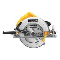 DEWALT DWE575SB, CIRCULAR SAW-LIGHTWEIGHT 7-1/4 - ELECTRIC BRAKE 15A DWE575SB