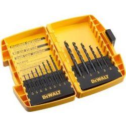 DEWALT DW1163, DRILL BIT SET 13PC - BLACK OXIDE DW1163