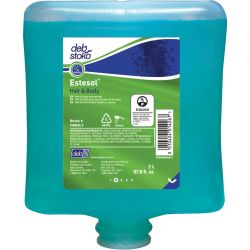 DEB HAB2LT, HAIR & BODY WASH 2L CARTRIDGE - ECOLOGO HAB2LT