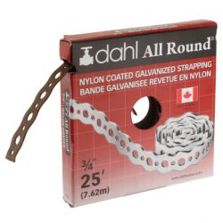 DAHL VALVE LIMITED 9085, STRAPPING-NYLON COATED - 3/4 X 25 FT 9085