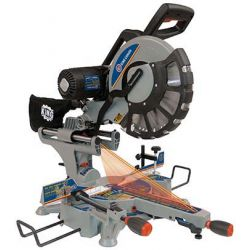 """KING TOOLS 8390N, MITER SAW WITH TWIN LASER - 12"""" SLIDING DUAL COMPOUND 8390N"""