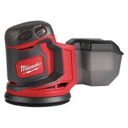 MILWAUKEE 2648-20, RANDOM ORBIT SANDER - M18 TOOL ONLY 2648-20