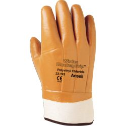 2319311100 ACTIVARMR ANSELL, WINTER MONKEY GRIP BROWN - FOAM INSULATED SAFETY CUFF - 2319311100
