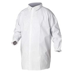 KIMBERLY CLARK KLEENGUARD 35622, KLEENGUARD A20 PART LAB COAT - 2XL 35622