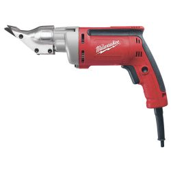 MILWAUKEE 6852-20, SHEAR HEAVY DUTY VS 18 GA - SWIVEL HEAD 5.0 AMP - 6852-20