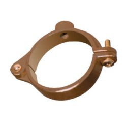 """WFS APPROVED F12338C0010, SPLIT RING HANGER HINGED - 1/2"""" COPPER (EA) EPOXY COATED F12338C0010"""