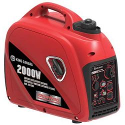 KING TOOLS KCG-2001I, GENERATOR GAS DIGITAL INVERTER - 2000W KCG-2001I