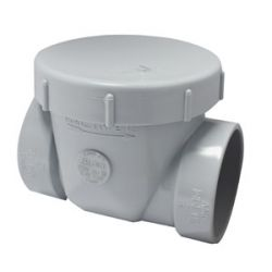 "2"" BACKWATER VALVE - GREY PVC"
