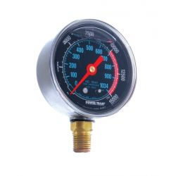 """GAUGE - HYDRAULIC 2-1/2"""" FACE - SILICONE FILLED 2500/500PSI"""