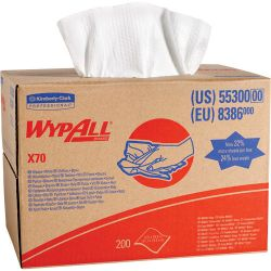 """KIMBERLY-CLARK 55300, WIPER-WYPALL X70 - 12-1/2"""" X 16.8"""" 200/CASE 55300"""