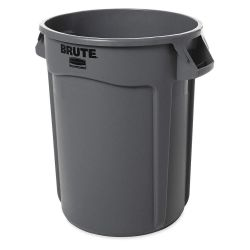 BRUTE CONTAINER GREY - 32 GAL W/O LID