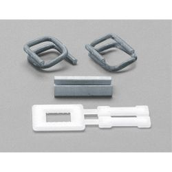 PLASTIC BUCKLE FOR 1/2 POLY,