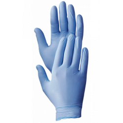 GLOVE DISPOSABLE NITRILE - PWDR FREE 100/BX M 4MM