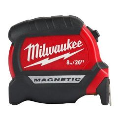 TAPE MEASURE 8M/26' - COMPACT WIDE MAGNETIC