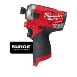 """IMPACT DRIVER-HYDRAULIC M12 - 1/4"""" HEX TOOL ONLY"""