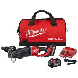 """DRILL RIGHT ANGLE 1/2"""" M18 SUPER HAWG KIT"""