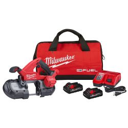 BANDSAW KIT: COMPACT M18 FUEL W/ (2)3.0A BATTERY CHARGER BLA