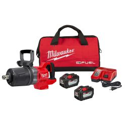 """IMPACT WRENCH 1""""DR HIGH TORQUE M18 FUEL D-HNDL W/ONE KEY, KIT"""