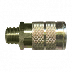 FAIRVIEW QD-INDMC8-8M, HOSE COUPLER-QUICK DISCONNECT QD-INDMC8-8M