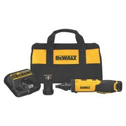 DEWALT DCF681N2, 8V MAX GYROSCOPIC SCREWDRIVER - WITH CONDUIT REAMER DCF681N2