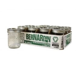 BERNARDIN 42-2526-8, MASON JAR STANDARD MOUTH - 250ML 42-2526-8