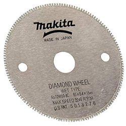 "MAKITA 724950-8C, CUTTING DIAMOND SAW BLADE - 3-3/8"" DIA 15MM TILE - 724950-8C"