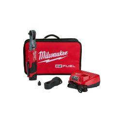 """MILWAUKEE 2557-21, RATCHET KIT-3/8"""" M12 FUEL - BATTERY/CHARGER/BAG/BOOT/ADAPT 2557-21"""