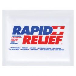 SAFECROSS FIRST AID 14535, HOT/COLD PACK 4 X 6 - REUSABLE - 14535