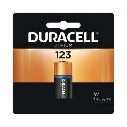 DURACELL DL123A-BPK, BATTERY-LITHIUM ULTRA 3 VOLT - BULK .669 DIA X 1.358 HIGH DL123A-BPK