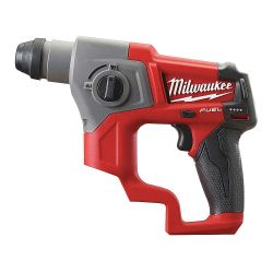 """MILWAUKEE 2416-20, HAMMER DRILL-ROTARY 5/8"""" - M12 FUEL SDS PLUS TOOL ONLY 2416-20"""