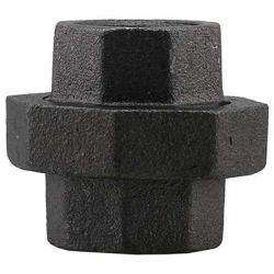 BOSHART INDUSTRIES BL3U-12, UNION-BLACK-300 LB 1-1/4 - BL3U-12