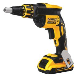 DEWALT DCF620D2, DRYWALL SCREWGUN KIT - 20V - LI-ION BRUSHLESS DCF620D2