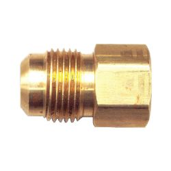 FAIRVIEW 46-8D, FLARE CONNECTOR - 1/2 TUBE X 1/2 FEMALE PIPE 46-8D