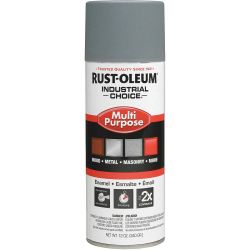 RUST-OLEUM 1680830, PRIMER-RUST INHIBITIVE IC - 12 OZ AEROSOL GRAY - 1680830