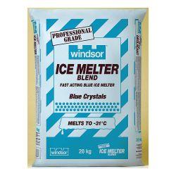 WINDSOR 7886, ICE MELTER BLEND - BLUE - 20 KG 7886