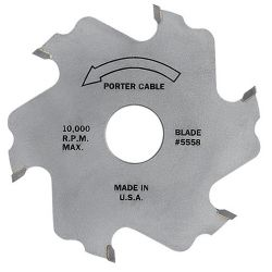 PORTER CABLE 5558, BISCUIT JOINER BLADE 5558 - 6 TOOTH 5558