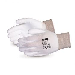 SUPERIOR GLOVE S13PU12, GLOVE-NYLON SEAMLESS KNIT - POLY PALM COATED SIZE 12 S13PU12
