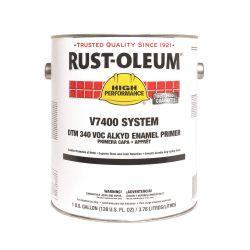 RUST-OLEUM V769402, PAINT-ENAMEL LOW VOC QK DRY - 1 GAL DAMP PROOF RED PRIMER - V769402